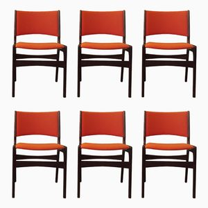 Mid-Century Teak Dining Chairs from Anderstrup, 1960s, Set of 6