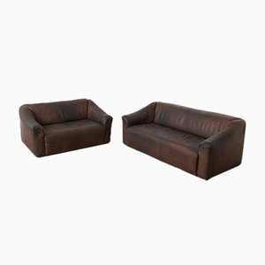 DS-47 3 und 2-Sitzer Sofas für de Sede, 1970er
