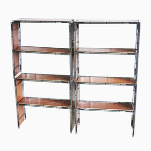 Stackable Shelves from Multistrux, 1960s, Set of 4