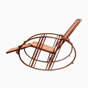 Vintage Egg Rocking Chair by Josef Hoffmann