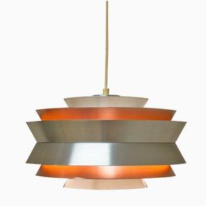 Vintage Trava Pendant Light by Carl Thore for Granhaga Metallindustri AB
