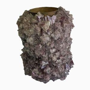 Jarrón de cristal 002 de Isaac Monté