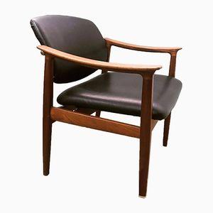 Schreibtischstuhl von Finn Juhl für France & Søn, 1950er