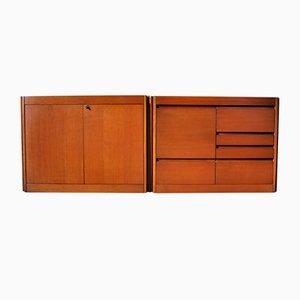 Modulares Vintage Modell 4D Sideboard von Angelo Mangiarotti für Molteni