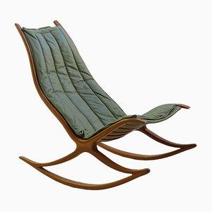 Rocking Chair Wishbone par Robin Williams, 1970s
