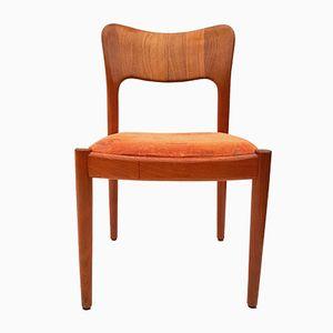 Danish Teak Chair by Niels Koefoed for Hornslet Møbelfabrik, 1960s