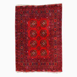 Handgeknüpfter Afghanischer Vintage Ersari Teppich, 1970er