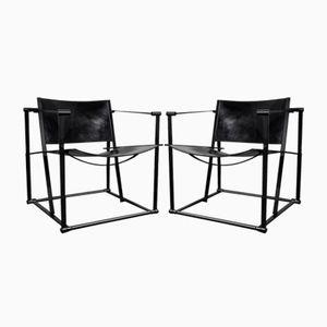 Würfelförmige FM61 Stühle von Radboud van Beekum für Pastoe, 1970er, 2er Set