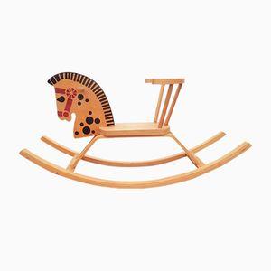 Cavallo a dondolo di SIA Troja, anni '70