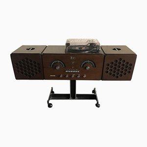 Vintage RR126 Giradischi Radio by the Castiglioni Brothers for Brionvega