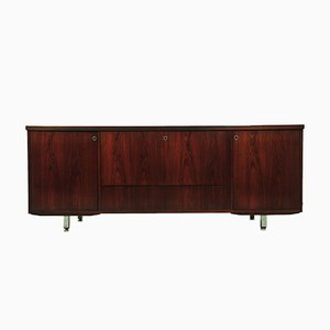 Vintage Rosewood Sideboard with Bar Cabinet