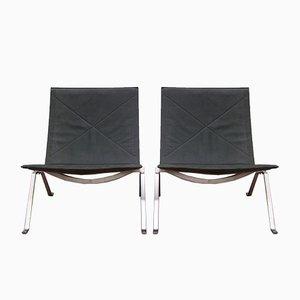 PK22 Lounge Chairs by Poul Kjaerholm for Fritz Hansen, 2014, Set of 2