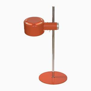Piccolo Tischlampe aus Chrom in Orange von Lyfa, 1970er