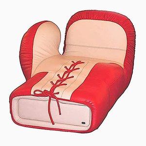 DS2878 Boxhandschuh Sessel von de Sede, 1980er