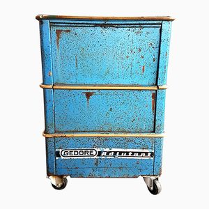 Vintage Industrial Workplace Trolley from Gedore