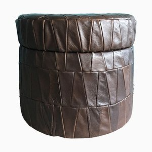 Patchwork Storage Pouf from de Sede, 1970s