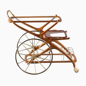 Italian Bar Cart by Cesare Lacca, 1950s