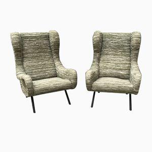 Senior Sessel von Zanuso für Arflex, 1950er, 2er Set