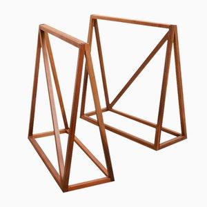 Basi per tavolo Le Trèteau di Zascho Petkow, set di 2