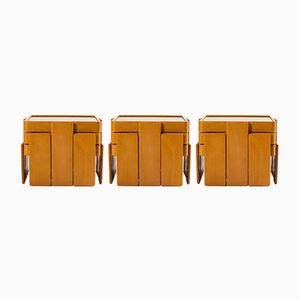 Mid-Century Nesting Tables by Gianfranco Frattini for Cassina, 1968