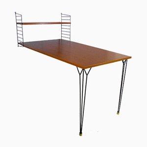 """Schreibtisch von Kajsa & Nils """"Nisse"""" Strinning für String, 1960er"""
