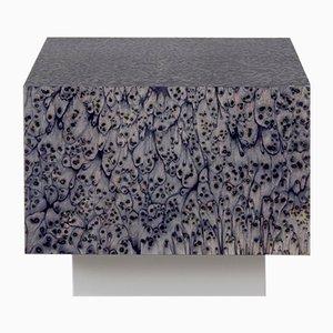 Tavolo Cube Haze grigio dalla collezione Oasis di LLOT LLOV