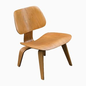 Vintage LCW Oak Chair by Charles & Ray Eames for Herman Miller, 1950s