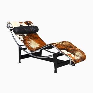 Chaise Longue LC4 par Le Corbusier pour Cassina, 1960s