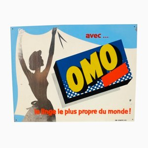 Vintage French Detergent Sign, 1959