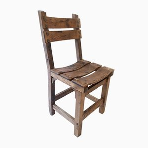 Chaise en Pin, 1950s