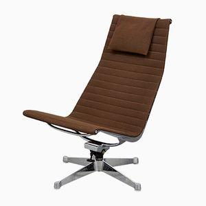 Vintage EA124 Stuhl von Charles & Ray Eames für Herman Miller
