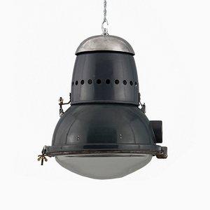 Ungarische Industrielle Deckenlampe, 1950er