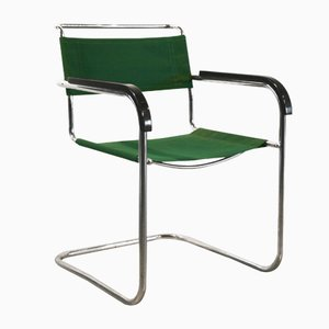 model b34 cantilever chair by marcel breuer for thonet 1950s - Marcel Breuer Freischwinger
