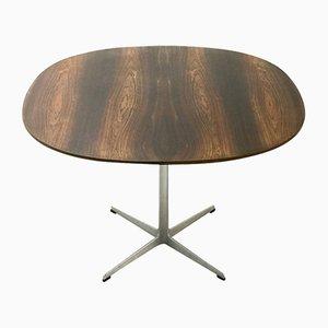 Tisch aus Palisander von Arne Jacobsen für Fritz Hansen, 1970er