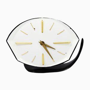 Horloge en Bakélite, République Tchèque, 1950s