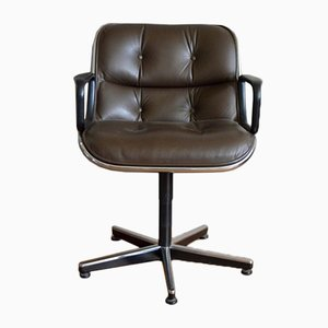Vintage Office Chair By Charles Pollock For Knoll