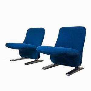 Postmoderne Concorde Sessel von Pierre Paulin für Artifort, 1960er, 2er Set