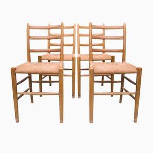 Esszimmerstühle von Arne Jacobsen für Fritz Hansen, 1960er, 4er Set
