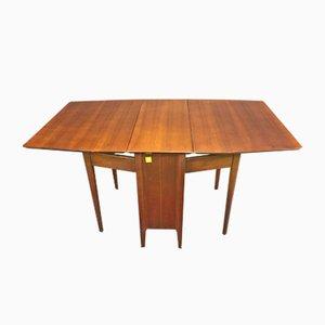 Gateleg Table in Walnut, 1970s