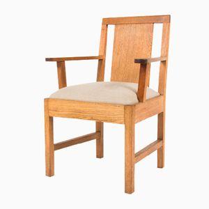 Oak Armchair, 1950s