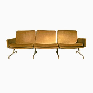 Sofa by Preben Fabricius & Jorgen Kastholm for Kill International, 1960s