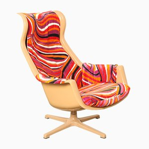 Vintage Galaxy Lounge Chair by Alf Svensson and Yngvar Sandstrom for DUX
