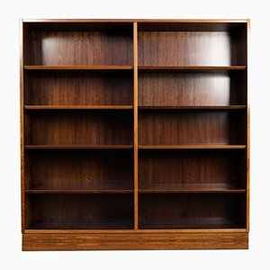 Mid-Century Danish Rosewood Bookcase by Poul Hundevad for Hundevad & Co.