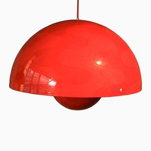 Vintage Flowerpot Lamp by Verner Panton for Louis Poulsen