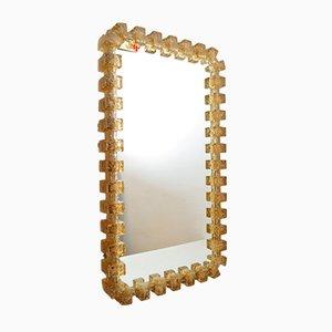 Illuminated Acryl Mirror from Hillebrand, 1979