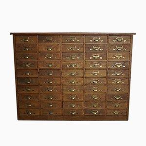 Dutch Oak Apothecary Cabinet, 1900s