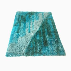 Dänischer Pop Art Woll-Teppich von LYNG Taepper, 1970er