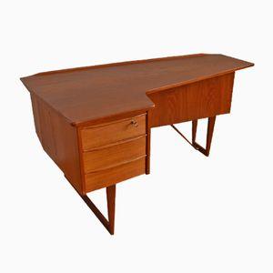 Boomerang Desk by Peter Løvig Nielsen for Hedensted Møbelfabrik, 1950s