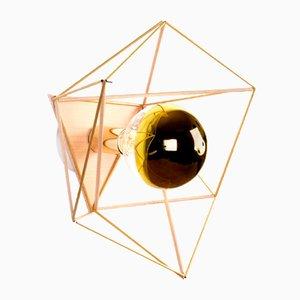 Hemmi-Icosahedron Wall Unit Lamp by Nicolas Brevers