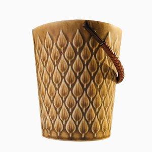 Vintage Danish Ceramic Ice Bucket by Jens Harald Quistgaard for Kronjyden Nissen, 1970s